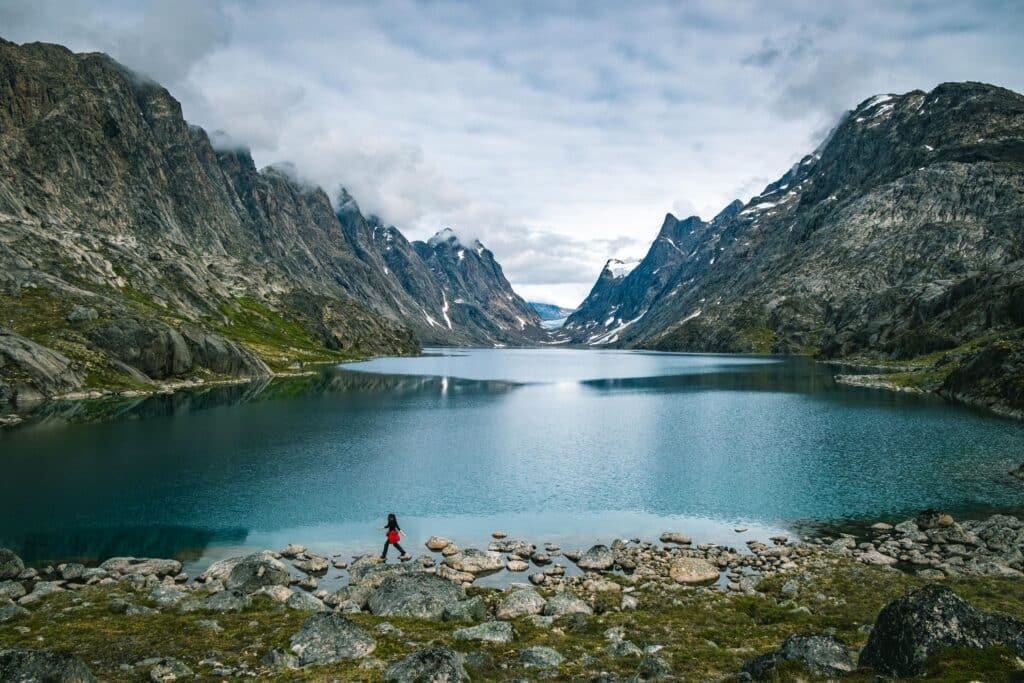 Photo Lasse Kyed - Inussuit Tasersuat lake near Maniitsoq