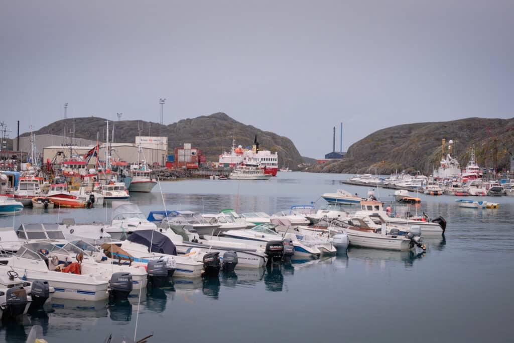 Sarfaq Ittuk in Maniitsoq harbour - West Greenland