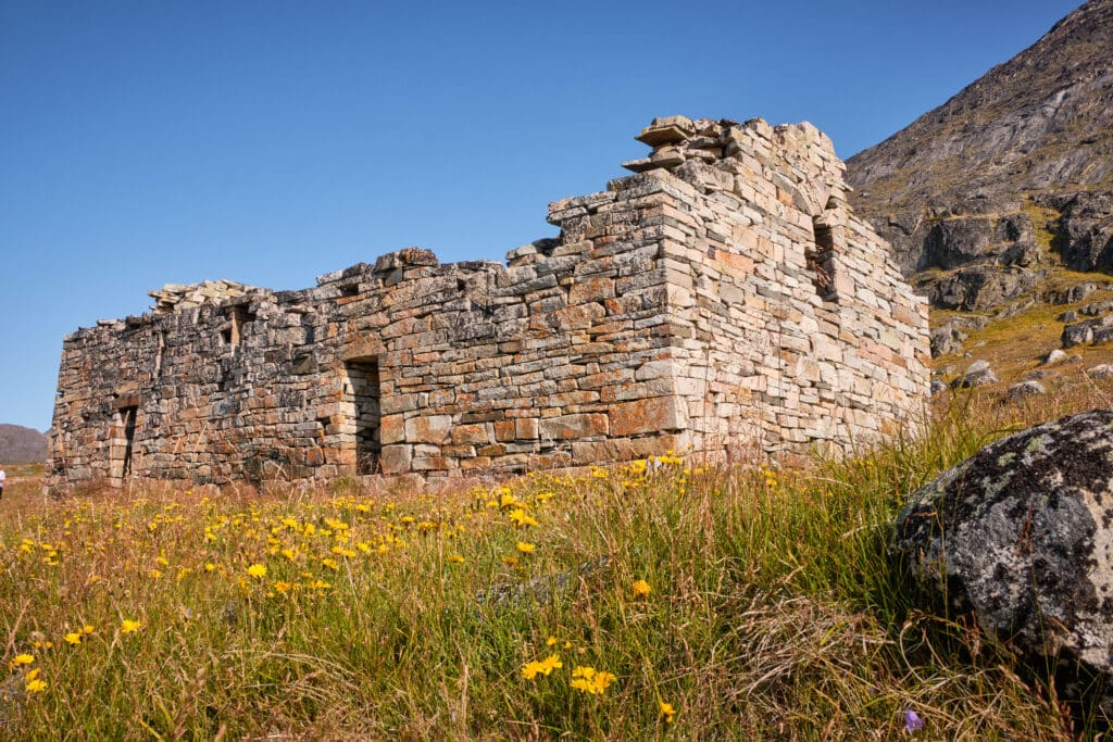 Hvalsey Church from the outside - Qaqortoq