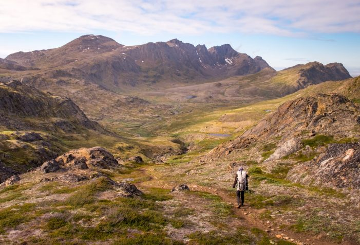 Approaching-Sisimiut-along-the-last-stretch-of-the-Arctic-Circle-Trail-hiking-summer-Guide-to-Greenland