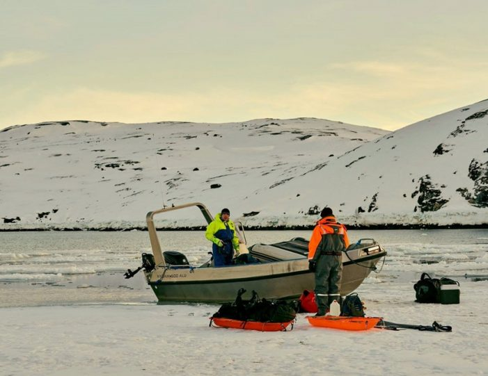 Arctic Char Icefishing Nuuk - Guide to Greenland12