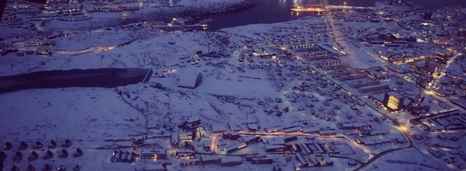 Beautiful Nuuk from the sky - Guide to Greenland2