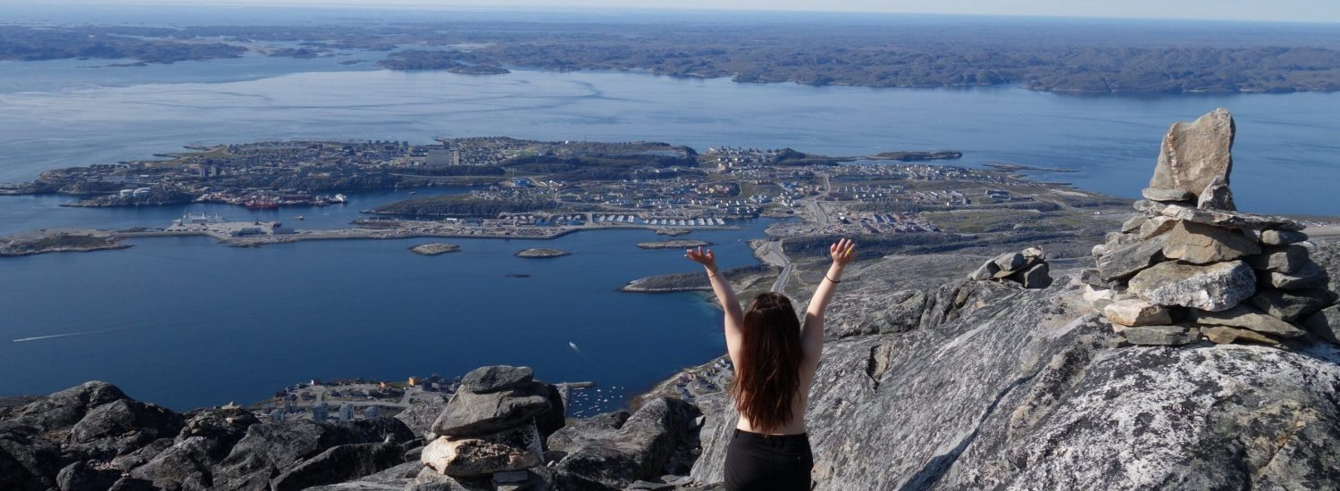 Climbing in Nuuk - To Ukkusissat (aka. Store Malene, 775m) - A mountain with amazing view in Nuuk - Guide to Greenland13