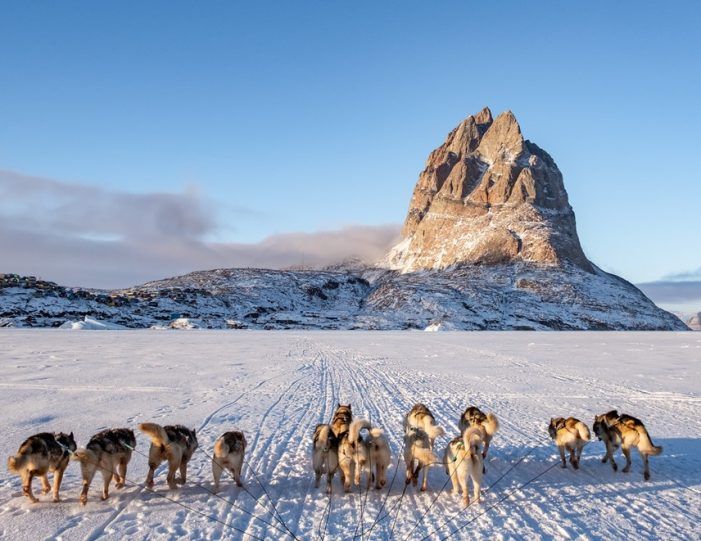 Dogsledding 4 hours Uummannaq North Greenland - Guide to Greenland2