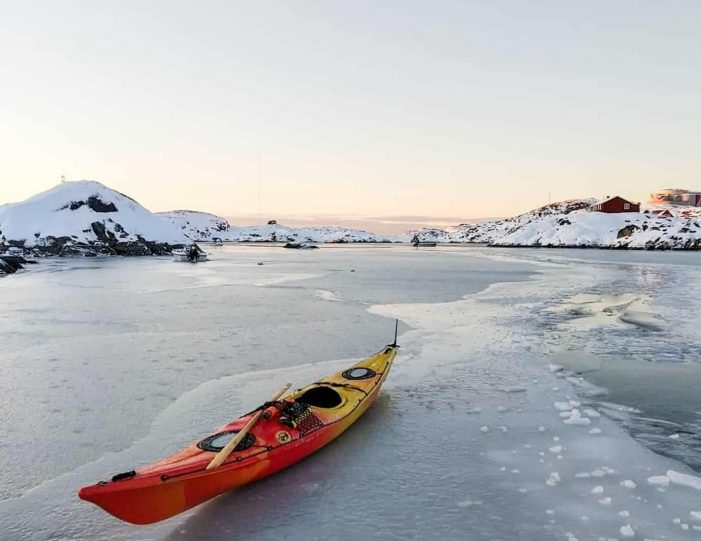 Dogsledding and Kayaking expedition w: 1 night in Cabin | Sisimiut - Guide to Greenland3