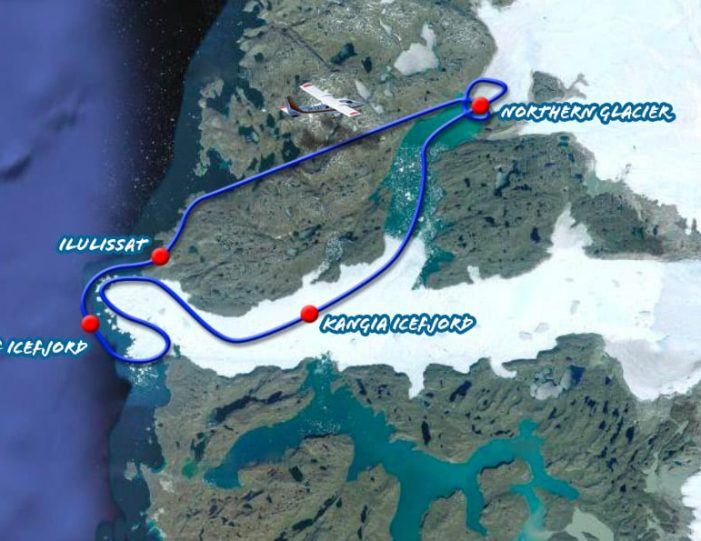 Glacier & Icefjord Flightseeing | Ilulissat | Disko Bay- Guide to Greenland