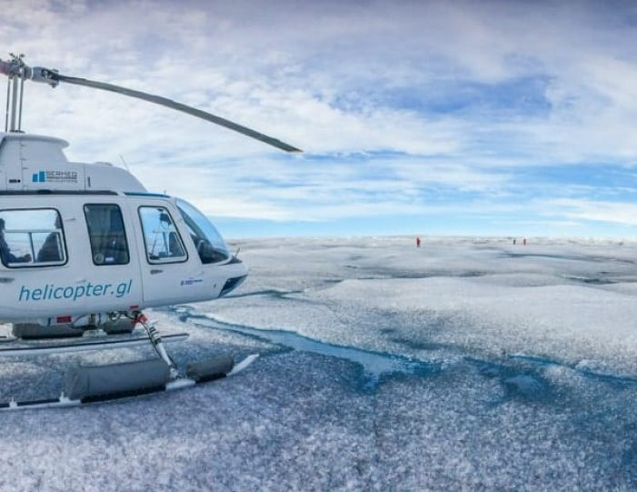 Glacier Landing by Helicopter | Qaqortoq | South Greenland- Guide to Greenland