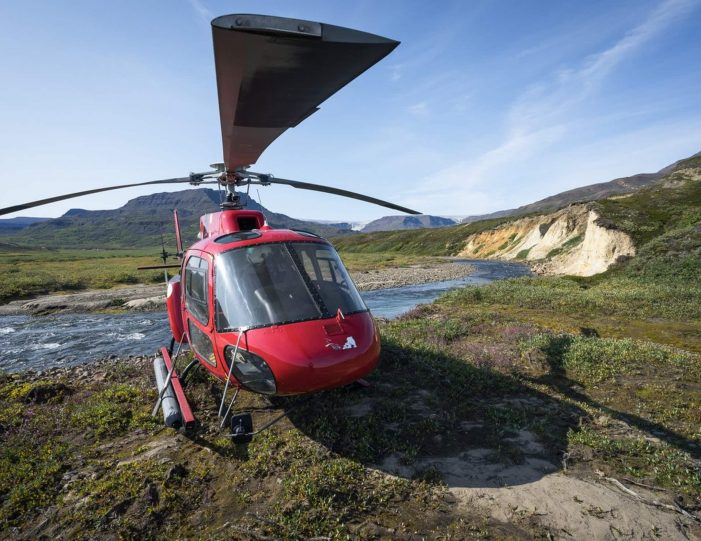 Heli Fishing Arctic Char Private charter Nuuk - Guide to Greenland9