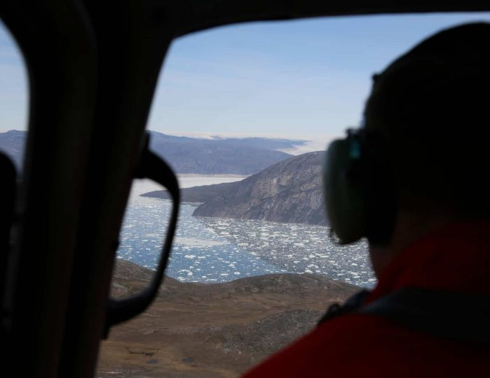 Helicopter tour to the icefjord | Private charter tour | Nuuk- Guide to Greenland1