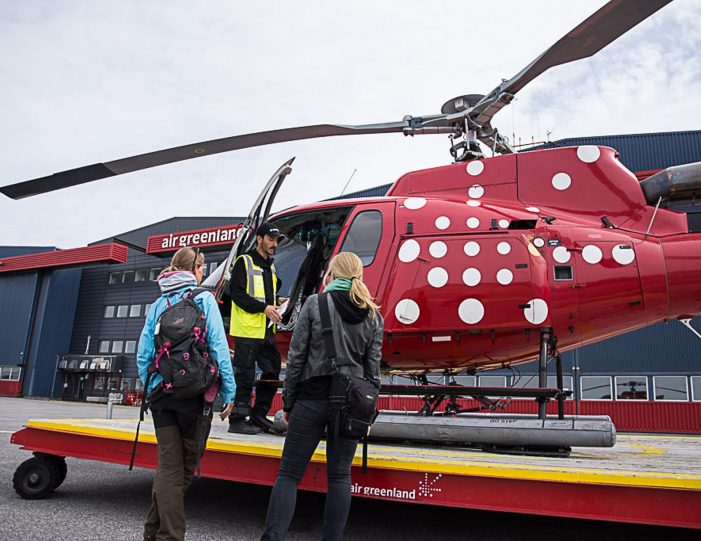 Helicopter tour to the icefjord Private charter tour Nuuk - Guide to Greenland1