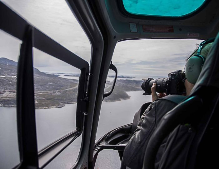 Helicopter tour to the icefjord Private charter tour Nuuk - Guide to Greenland4