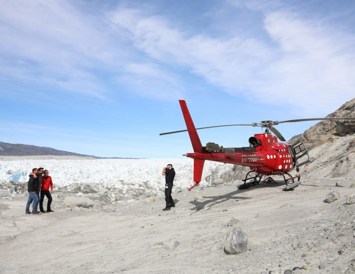 Helicopter tour to the icefjord | Private charter tour | Nuuk- Guide to Greenland6