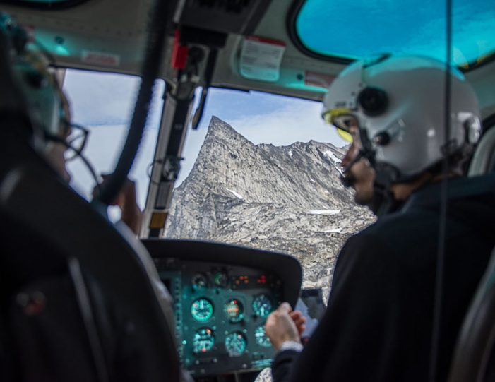 Helicopter tour to the icefjord Private charter tour Nuuk - Guide to Greenland8