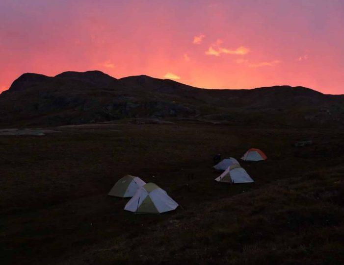 Hiking, Kayaking & Camping   Musk Ox Lake   Kangerlussuaq - Guide to Greenland5