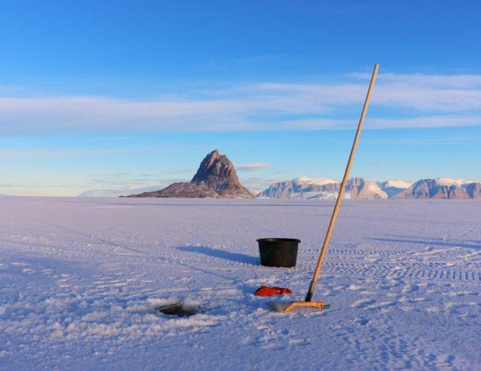Ice fishing Uummannaq North Greenland - Guide to Greenland2