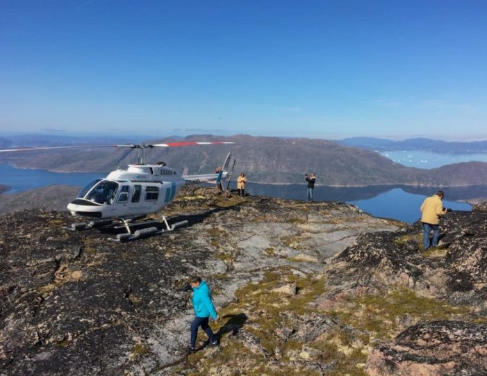 Icebergs and Summit View by Helicopter | Qaqortoq | South Greenland- Guide to Greenland 1