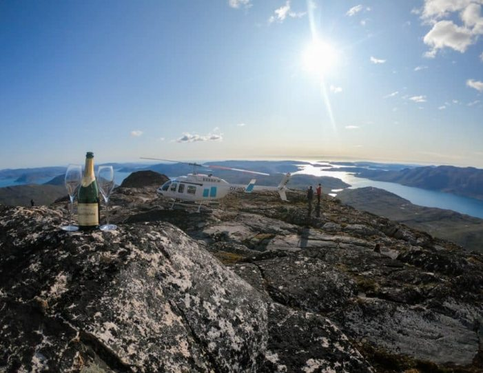 Icebergs and Summit View by Helicopter | Qaqortoq | South Greenland- Guide to Greenland