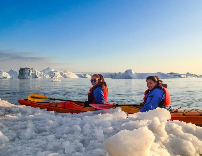 Kayaking tour from Tasiilaq | East Greenland-Guide to Greenland1