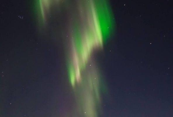 Northern lights above Nuuk in Greenland - Guide to Greenland5