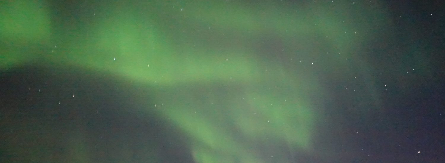 Northern lights are back to Nuuk!! - Guide to Greenland3