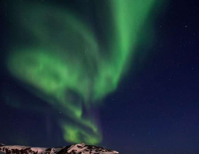 Northern lights in Ilulissat by Inesa Matuliausakaite- Guide to Greenland