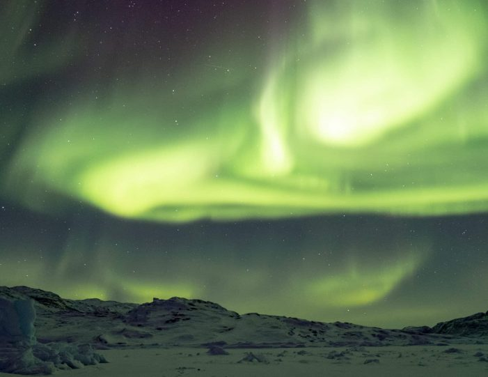 Northern lights tour in Ilulissat- Guide to Greenland
