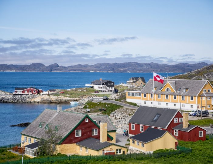 Old colonial harbour from above- Nuuk- Cultural tours- photo by Inesa Matuliauskaite- Guide to Greenland