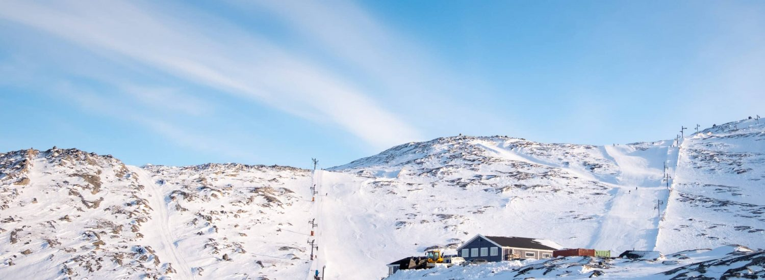 Sisorarfiit-Ski-Center-and-some-of-the-ski-runs-going-up-Quassussuaq-Lille-Malene-near-Nuuk-winter-Guide-to-Greenland