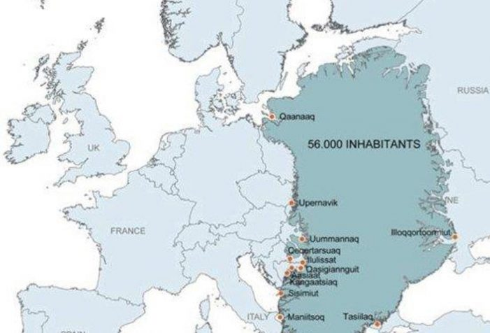 Size-comparison-between-Europe-and-Greenland-