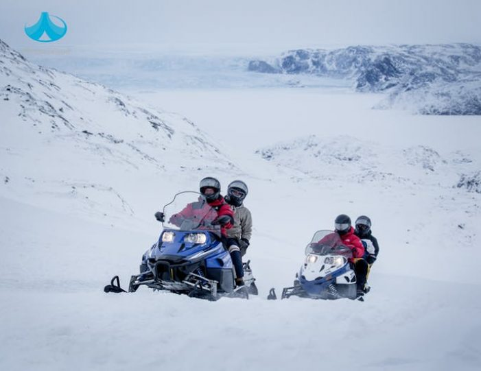 Snowmobile _ Snowshoe adventure Ilulissat Disko Bay - Guide to Greenland10