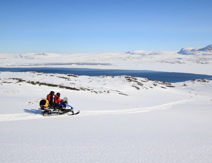 Snowmobile _ Snowshoe adventure Ilulissat Disko Bay - Guide to Greenland2