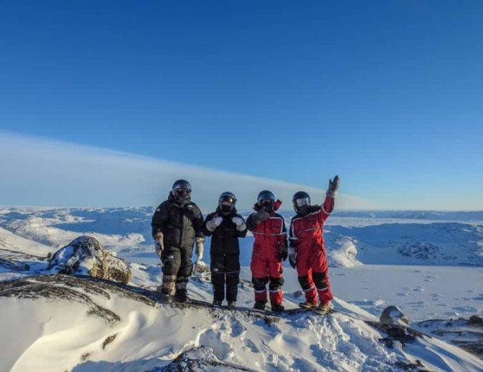 Snowmobile _ Snowshoe adventure Ilulissat Disko Bay - Guide to Greenland5