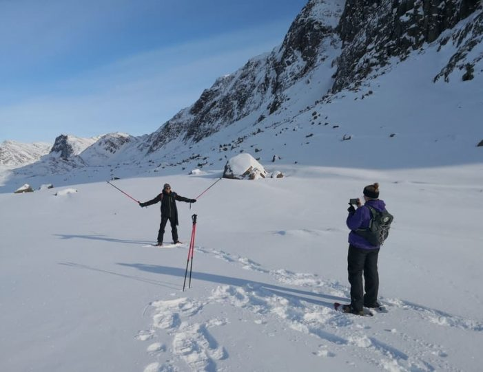 Snowshoe Winter Hike Sisimiut - Guide to Greenland3