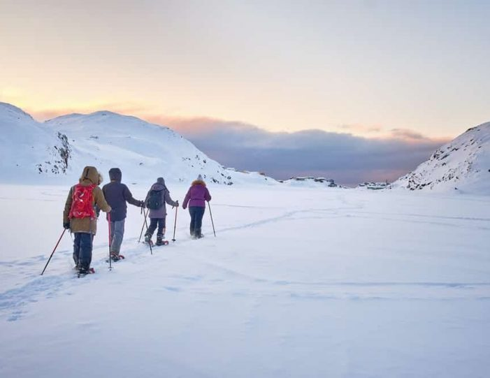 Snowshoe Winter Hike Sisimiut - Guide to Greenland4
