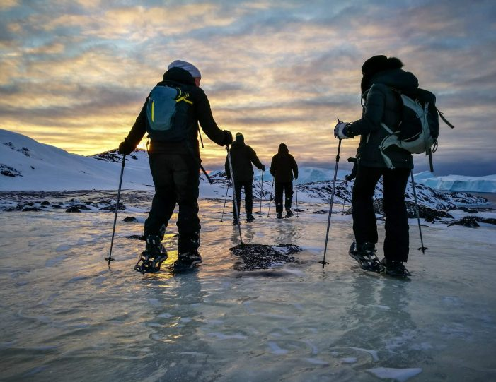 Snowshoe_hike_Express_To_Ilulissat_Icefjord_Disko_Bay_Guide to Greenland5
