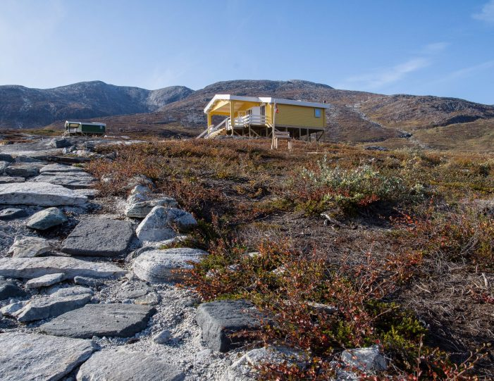 The path to the huts- Nuuk fjord-Guide to Greenland