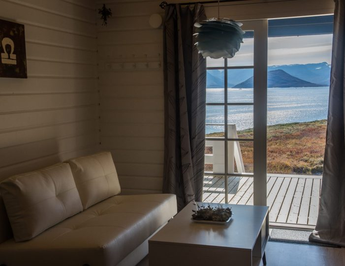 View from the hut in Nuuk fjord- Guide to Greenland