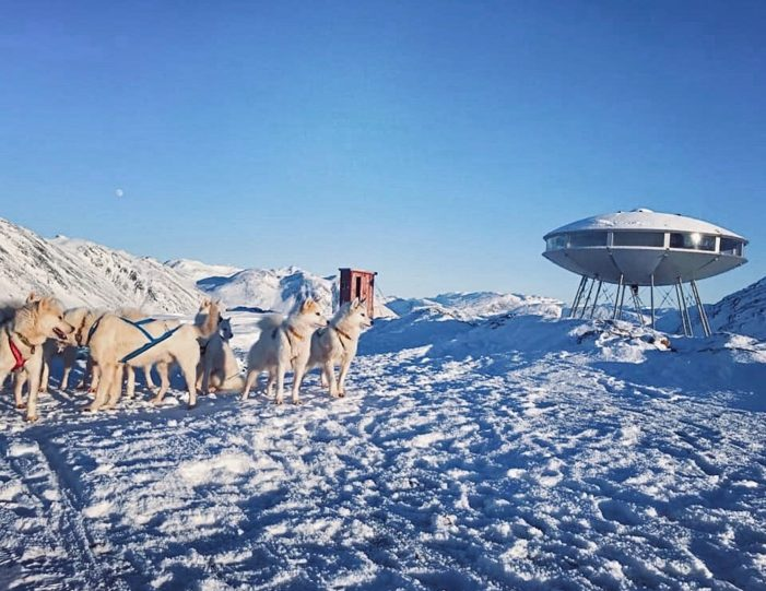 dog-sledding-tour-to-the-ufo-cabin-viewpoint-sisimiut - Guide to Greenland5
