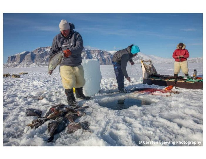 dogsled-expedition-hunting-and-fishing-on-sea-ice-uummannaq-north-greenland-Guide to Greenland1