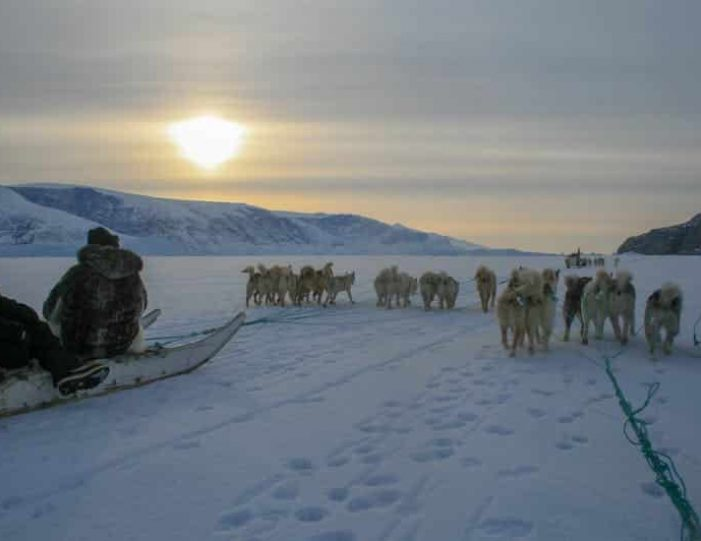 dogsled-expedition-hunting-and-fishing-on-sea-ice-uummannaq-north-greenland-Guide to Greenland19