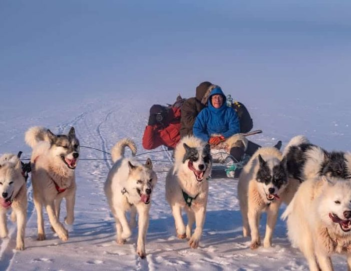 dogsled-expedition-hunting-and-fishing-on-sea-ice-uummannaq-north-greenland-Guide to Greenland2