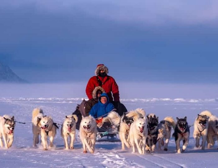 dogsled-expedition-hunting-and-fishing-on-sea-ice-uummannaq-north-greenland-Guide to Greenland5