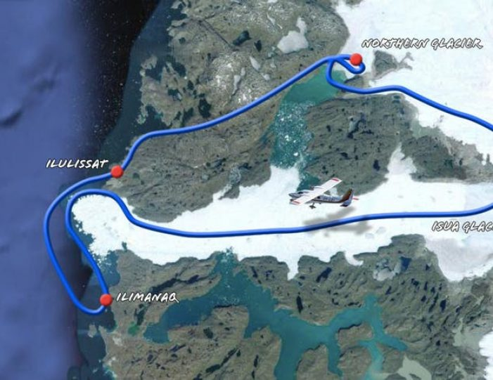 glacier-adventure-flightseeing-ilulissat-disko-bay - Guide to Greenland8