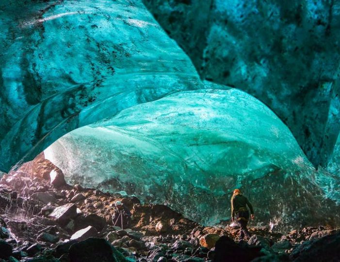 glacier-walk-ice-cave-tour-east-greenland -Guide to Greenland1
