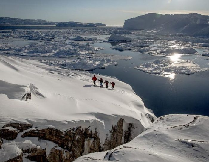 icefjord-snowshoe-hike-ilulissat-disko-bay - Guide to Greenland (1)