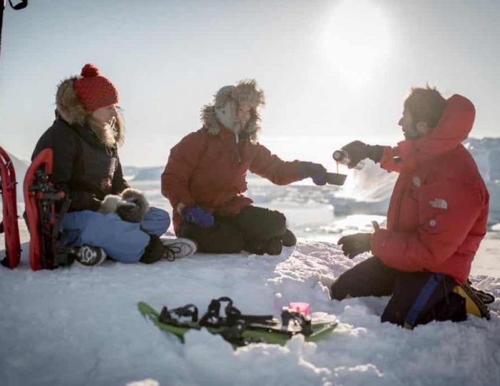 icefjord-snowshoe-hike-ilulissat-disko-bay - Guide to Greenland (10)