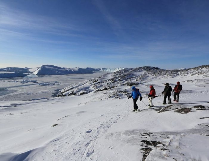 icefjord-snowshoe-hike-ilulissat-disko-bay - Guide to Greenland (5)