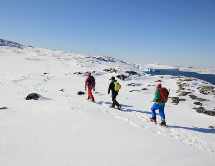 icefjord-snowshoe-hike-ilulissat-disko-bay - Guide to Greenland (6)