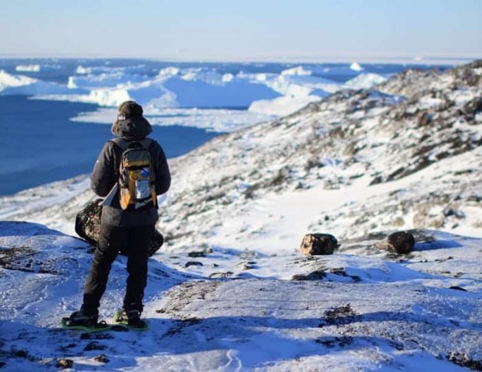 icefjord-snowshoe-hike-ilulissat-disko-bay - Guide to Greenland (7)