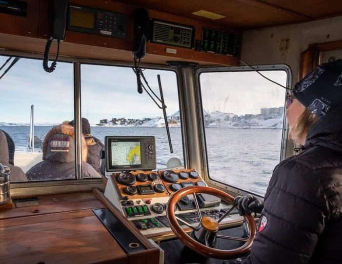 interior-of-one-of-the-boats-used-for-the-closed-boat-nuuk-fjord-safari- Guide to Greenland